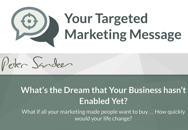 Targeted-Marketing-Message