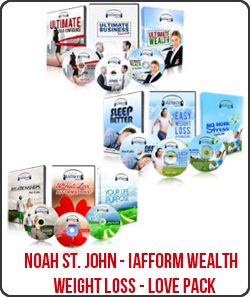 Noah St. John – iafform Wealth pack