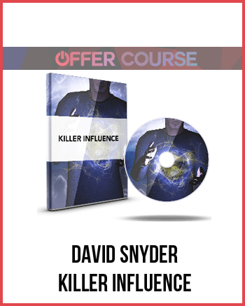 David Snyder – Killer Influence