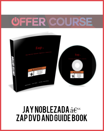 Jay Noblezada – Zap DVD and Guide Book