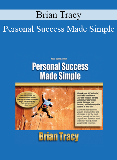 Brian Tracy - Personal Success Made Simple