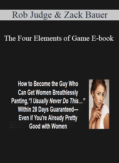 Rob Judge & Zack Bauer - The Four Elements of Game E-book