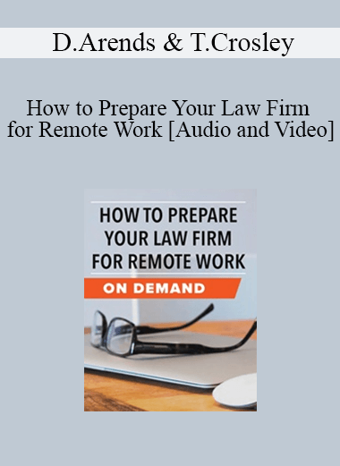 Trial Guides - How to Prepare Your Law Firm for Remote Work